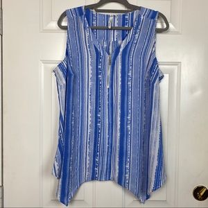 Collection Woman Zipper chest tank top size 2X